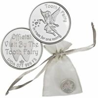 A Visit From the Tooth Fairy with Gift Bag 1/10 oz. Fine Silver Bullion Round!!