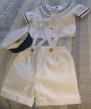 Boys Sailor Outfit 12mths