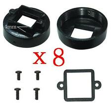 Sunvision 8x Metal CS Mount 4.0mm Lens Holder Kits for CCTV Board Camera (CS4)