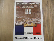 PORSCHE Postkarte Mission 2014 Our Return Nr. 2 SR318