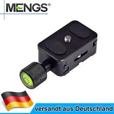 MENGS K30 Schnellwechselplatte + Klemme Für DSLR Kamera mit Arca-Swiss Standard