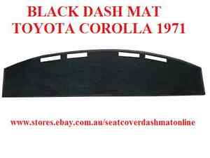 DASHMAT, DASH MAT TOYOTA COROLLA KE25 1971, BLACK