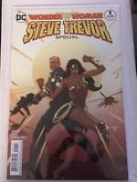 WONDER WOMAN STEVE TREVOR SPECIAL #1 variant cover dc comics tim seeley gadot