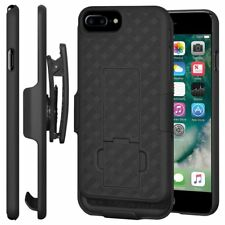 "Shell Holster Belt Clip Stand Combo Case Cover For Apple iPhone 7 Plus 5.5"" Case"
