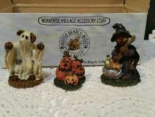 "New listing Boyds Bears 2000 ""Punky Boobear'S Haunted Halloween House"