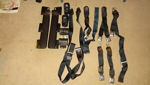 1971-1972-1973 GM seat belts. Cadillac Buick Olds Pontiac Chevy Impala DeVille