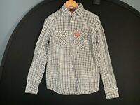 Superdry Long Sleeve Shirt Checked Mens Size Medium M Lumberjack