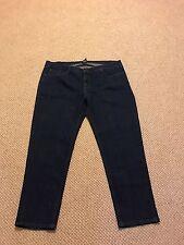 Women's Southern Expressions Stretch Dark Denim Regular Fit Jeans Sz 26 Avg EUC