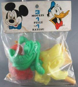 Mickey et ses amis - Sitap 54-6310 Jeu de Plage vintage - Moules Mickey Donald P