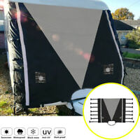 Caravan Front Towing Cover Chip Protector Universal With Free LED Guards Light