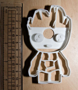 Baby groot Cookie or fondant  Cutter 3d printed