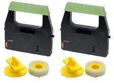 2x Farbband + 2x Lift-Off für Canon AP02 AP110 AP120 ES 10 25 200 Gr. 156C + 143