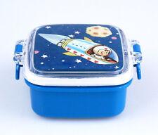 """Kleine Snack-Dose Snackbox """"Spaceboy"""", mit praktischem Klemmverschluss, für Kids"""