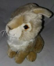 "Ganz Bros Heritage Collection Brown White Bunny Rabbit 7"" Plush"