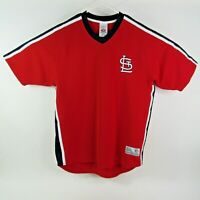 True Fan Athletic St Louis Baseball Jersey Size Large Mens 42-44 Red