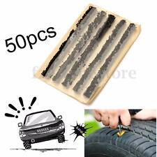 50pcs Tubeless Tire Tyre Puncture Repair Kit Heavy Duty Bike Car Plugs Strips