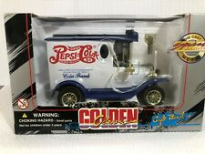 Pepsi Cola Coin Bank 1912 Ford Delivery Truck Vintage Style w/Key