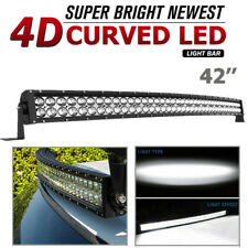 "42"" inch Curved LED Light Bar Combo Spot Flood Driving Pickup ATV Off-Road 560W"