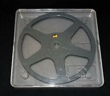 *** UNE BOBINE DE STOCKAGE POSSO - FILMS SUPER 8MM - 120 METRES AVEC BOITE ***