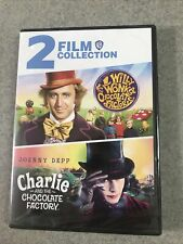 Willy Wonka and The Chocolate Factory / Charlie and The Chocolate Chocolate Dvd