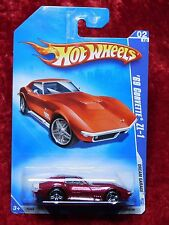 2009 Hot Wheels Dream Garage Metallic Red '69 Corvette ZL-1
