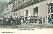 PERU ESTACION DE CHOSICA ED. POLACK 700