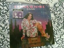 Donna Summer Shrink Hype Sticker & Saturday Night Fever Bee Gee 4 Lp Disco Dance