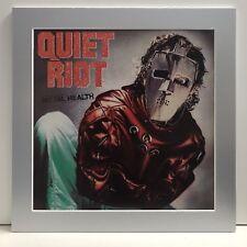 "Quiet Riot ""Mental Health� Pro Matted Album Art, Heavy Metal, Rock, 13�x13�"
