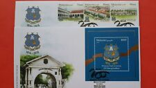 2016 Malaysia Penang Free School 200 Years Anniversary ( 3v+MS ) - FDC