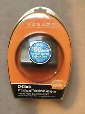 VONAGE D-LINK VTA-VR BROADBAND TELEPHONE ADAPTER INTERNET PHONE 790069700743
