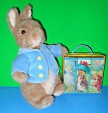 "Gund World Of Beatrix Potter Plush Peter Rabbit Puzzle n Booklet 2002 75901 13"""