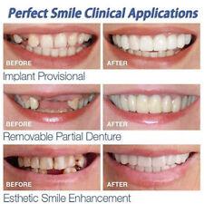 2X Smile Snap On Bottom Upper Lower False Teeth Dental Veneers Dentures