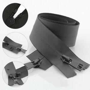5# Open-end Double Slider Waterproof Waterproof Zipper DIY Sewing Coat Clothes