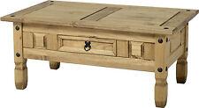Pine Living Room 60cm-80cm Height Coffee Tables