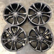 20 Zoll Audi Felgen A6 S6 A7 S7 A8 9x20 ET37 4H0601025BT Schwarz glanz top