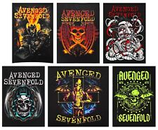 Avenged Sevenfold patch DIY printed band patches heavy metal hard rock metalcore