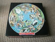 WADDINGTONS VINTAGE CIRCULAR JIGSAW - DUCKS - 500 PIECE - V.G.C.