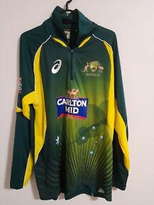 Australian Cricket Shirt Player Issue Under 19 2014/15 ODI Jersey Top Size M