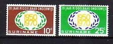 Suriname Michel numero 575 - 576 post freschi