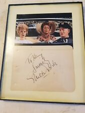 Milton Burle autograph to Henry sincerely framed 8x10
