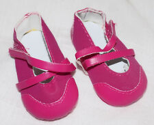 """New Dark Pink Fun Casual Shoes That  fit American Girl & similar-sized 18"""" dolls"""