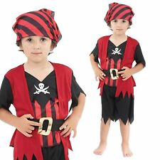 Bristol Novelty Pirate Mate Boy Toddler Costume Age 2 - 3 Years