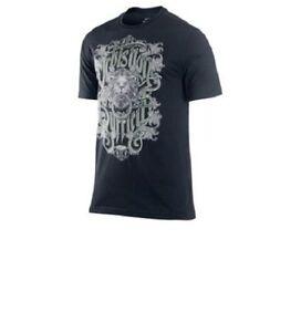 Nike LeBron Men's Dri-Fit Black / Yellow Basketball T-Shirt 465614 M-3XL