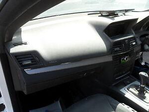 MERCEDES E250 CONVERTIBLE 2012 DASHBOARD WITH PASSENGER AIR BAG