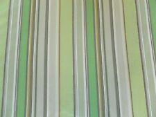 Harlequin Curtain Fabric BONBON TUTTI FRUITTI 3.5m Meadow/Coffee Striped Design