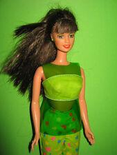 B403-RARE brune sit in style Barbie Teresa MATTEL 1999 molto ben conservato