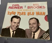The Complete 2000 Year Old Man by Carl Reiner & Mel Brooks 4-Disc Cd Set