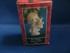 Precious Moments Ornament 529648 The Magic Starts With You 1992
