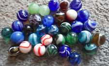 BB Marbles: 33 Japanese Transitionals. All Mint. (BB338)