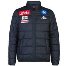 SSC Napoli soccer training presentation bomber jacket 2018/2019 Kappa blue